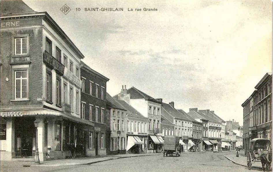 Saint-Ghislain : Grand'Rue.