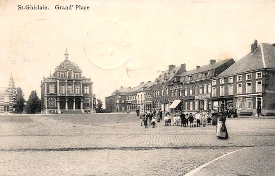 Saint-Ghislain : Grand-Place.