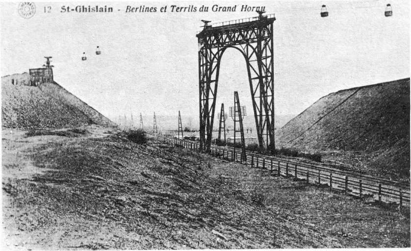 Saint-Ghislain : Berlines et Terrils du Grand Hornu