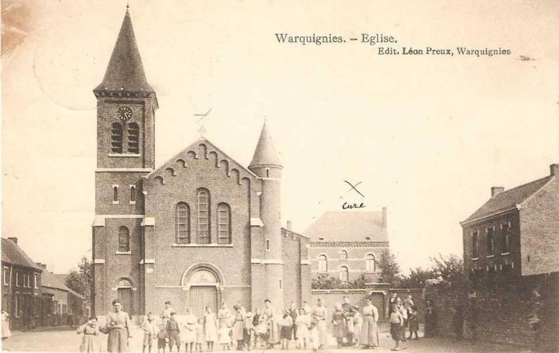 Warquignies : L'Eglise.